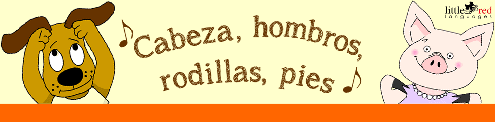 Cabeza, hombros, rodillas, pies | Little Red Languages
