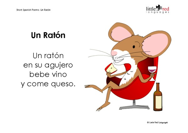 Four Short Spanish Poems Little Red Languages